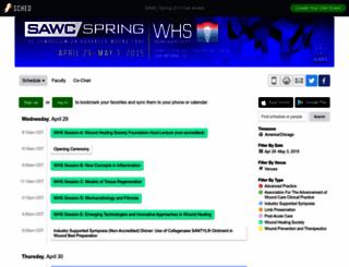 sawcspring2015.sched.org screenshot