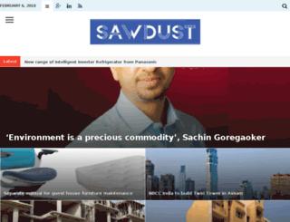 sawdust.co.in screenshot