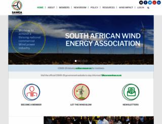 sawea.org.za screenshot