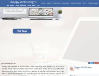 sawebdesigns.co.za screenshot