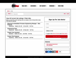 sawstop.applicantpool.com screenshot