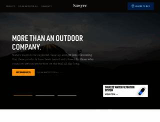 sawyer.com screenshot