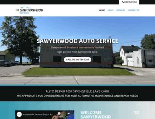 sawyerwoodservice.com screenshot