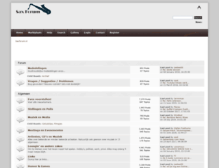 saxforum.nl screenshot