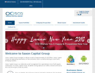 saxoncapital.com screenshot