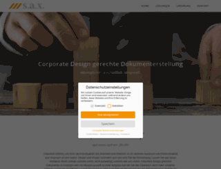 saxservice.com screenshot