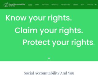 say-zambia.org screenshot