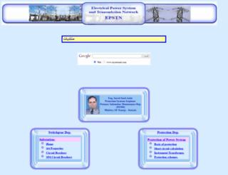 sayedsaad.com screenshot