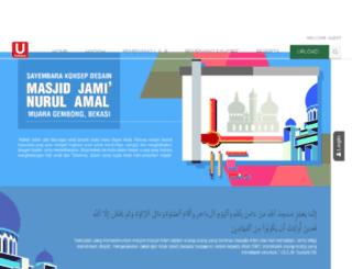 sayembaramasjid.ucontest.info screenshot