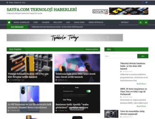 sayfa.com screenshot