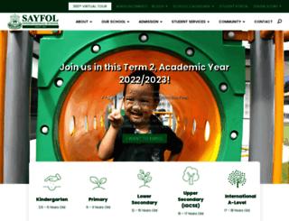 sayfol.edu.my screenshot