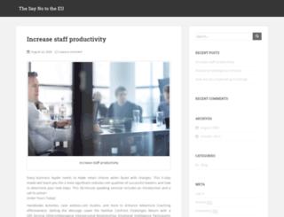 saynotoeu.com screenshot