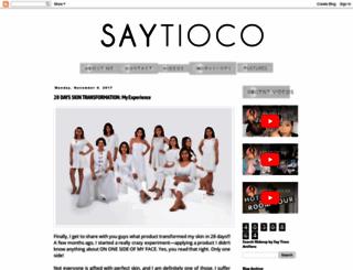 saytiocoartillero.blogspot.com screenshot