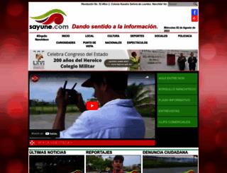 sayune.com screenshot