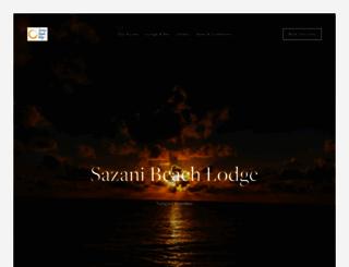 sazanibeach.com screenshot