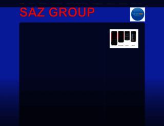 sazgroup.webs.com screenshot