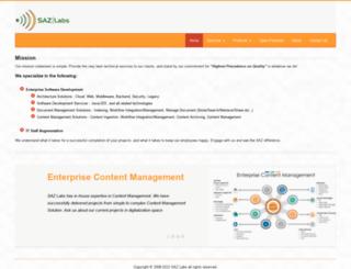sazlabs.com screenshot