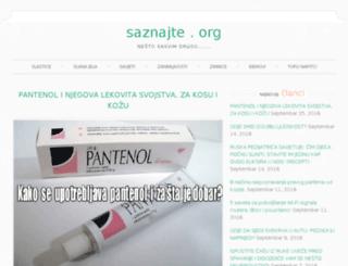 saznajte.org screenshot