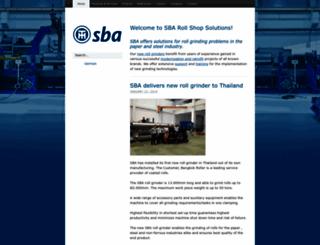 sba-rss.com screenshot