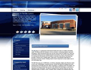 sbaeaglescybrary.org screenshot