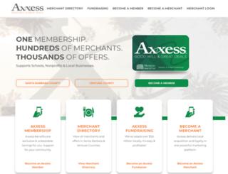 sbaxxess.com screenshot