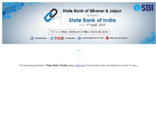 sbbjbank.com screenshot