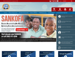sbcusd.com screenshot