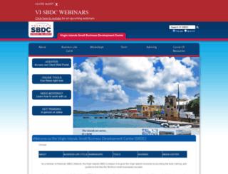 sbdcvi.com screenshot