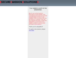 sbdp.securemissionsolutions.com screenshot