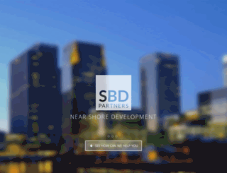 sbdpartners.co.uk screenshot