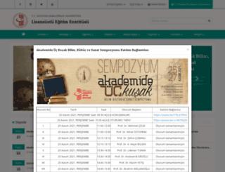 sbe.dpu.edu.tr screenshot