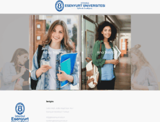 sbe.esenyurt.edu.tr screenshot