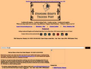 sbearstradingpost.com screenshot