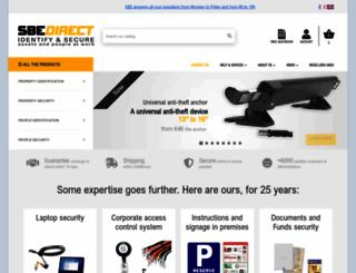 sbedirect.com screenshot