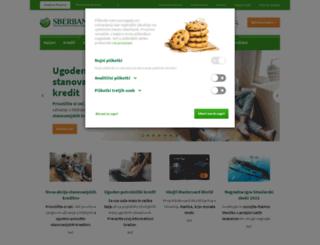 sberbank.si screenshot