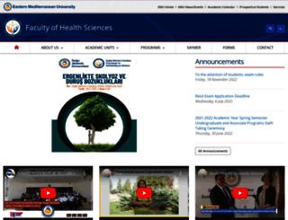 sbf.emu.edu.tr screenshot
