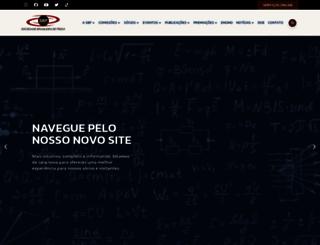 sbfisica.org.br screenshot