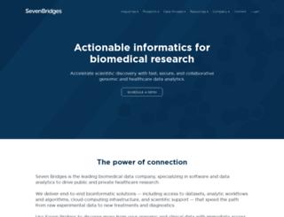 sbgenomics.com screenshot