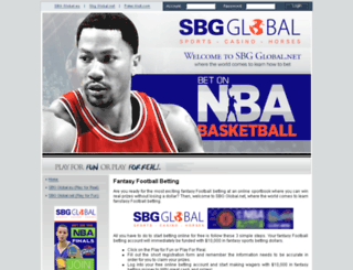 sbgglobal.net screenshot