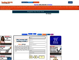sbipo.testbag.com screenshot