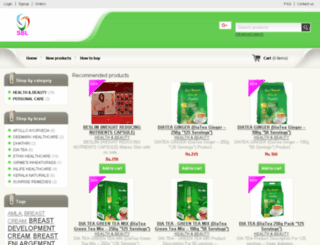 sblherbals.shopmania.biz screenshot
