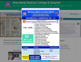 sbmch.ac.in screenshot
