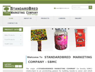 sbmcindia.com screenshot