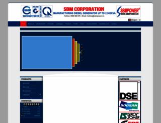 sbmpower.com screenshot