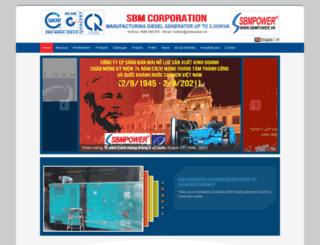 sbmpower.vn screenshot