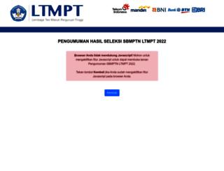 sbmptn.itb.ac.id screenshot