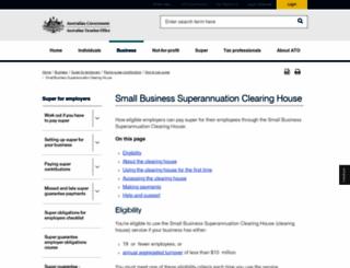 sbsch.gov.au screenshot