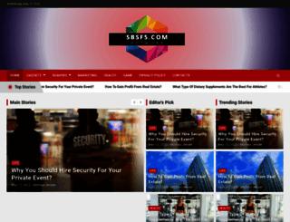 sbsf5.com screenshot