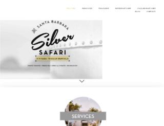 sbsilversafari.squarespace.com screenshot