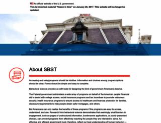 sbst.gov screenshot